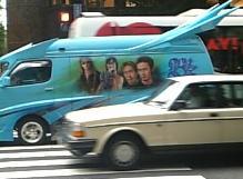 B'zファンの車