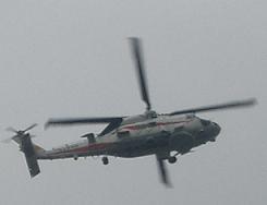 観艦式予行27日・SH-60