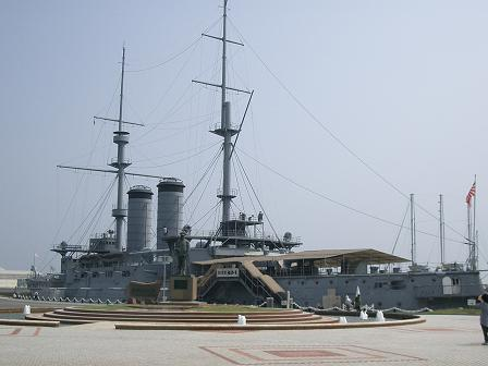 横須賀・・・記念艦「三笠」