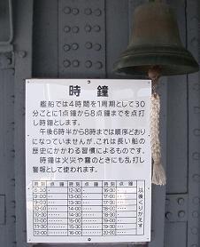 横須賀・・・三笠、時鐘