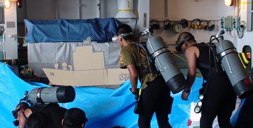 2007年度、舞鶴地方隊展示訓練「海ゴリラ物語」