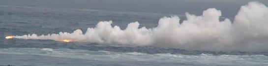 2007年度、舞鶴地方隊展示訓練「IRデコイ発射」