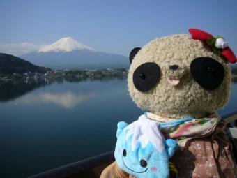 富士山と富士ちゃんとばぶちゃん