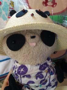 パンダ帽子とおばぶ