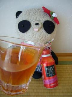 紅茶をさっそく飲んでみた