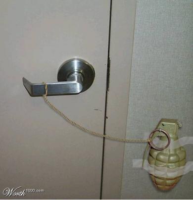 泥棒入り難い家