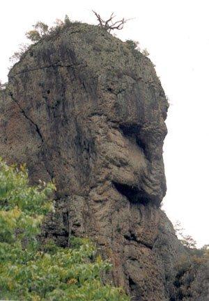 おじいさんの岩