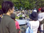 坂詰美紗子さんのストリートライブ