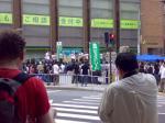 阪急高槻市駅前噴水広場
