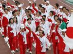 日本選手団(時事通信より)