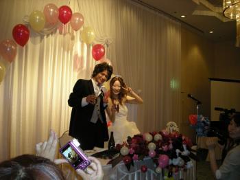 結婚披露パ~ティ~8