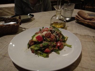 レンズ豆サラダ