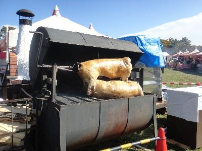 豚ちゃんの丸焼き