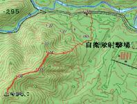 そっち岳地図