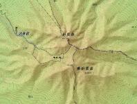 斜里岳地図