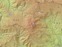 トムラウシ地図