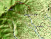 浦臼山 カシミール地図