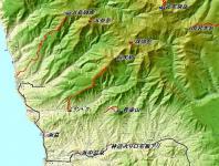黄金山 カシミール地図 こがね2 整備されてる山だ