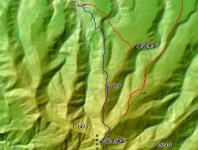 北暑寒岳 GPSMAP