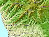 群別岳 広域地図