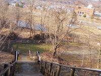 ズリ山階段 赤平市