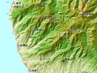 浜益御殿 浜益岳 広域地図