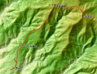 浜益御殿 浜益岳 地図