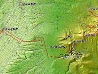 前富良野岳 広域地図