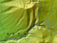 前富良野岳 地図