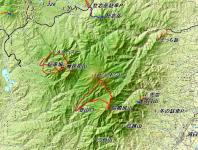 隈根尻山 広域地図