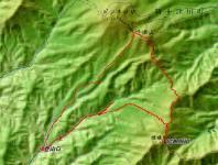 隈根尻山 地図