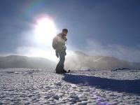 十勝岳 境山 火山ガスがモアモア~
