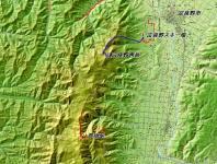 富良野西岳 広域地図