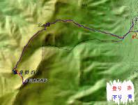 富良野西岳 地図