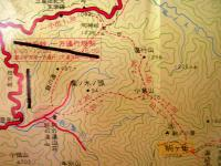 4越後駒ヶ岳 最初地図