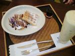 和-カフェ-抹茶-珈琲-コーヒー-ケーキ-ワッフル-栗-マロン-蔵