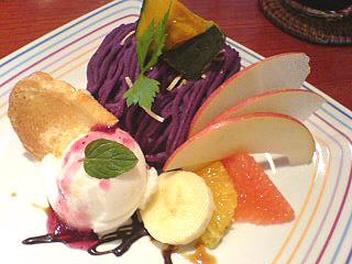 熊本-くまもと-カフェ-グルメ-お菓子-スイーツ-アップアップ-健軍神社-upup-モンブラン