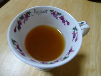 ザ・プラセンタゼリー in 紅茶