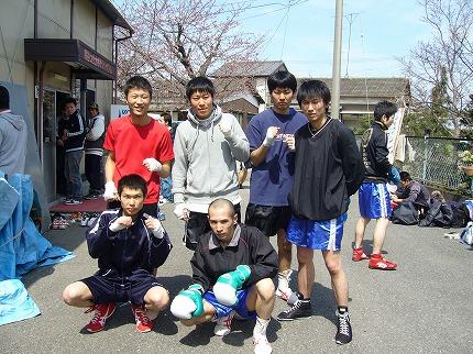 熊谷ジムスパーリング1