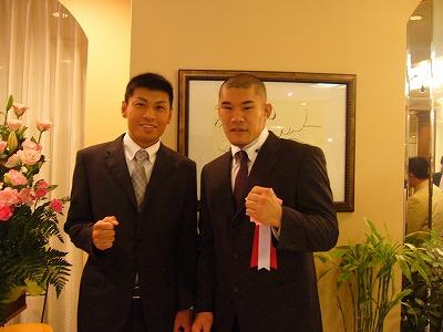 清田選手と(09.6.23)
