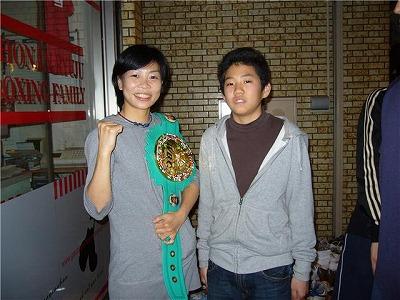富樫さんと拓郎くん