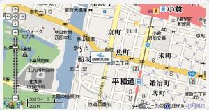 神戸(小倉)クリニック地図