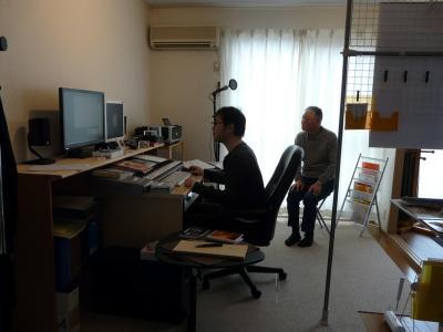 20100121ココビットスタジオ訪問 004