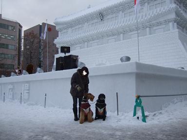 2009.02.10  札幌雪まつり④