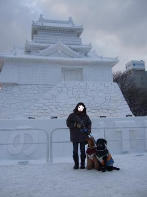 2009.02.10  札幌雪まつり⑤