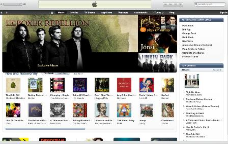 US iTunes Alternative Album Charts Wed 2 Feb 2011