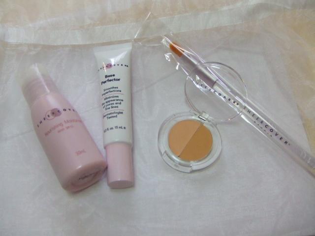 乳液と化粧下地とコンシーラー