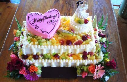 2011 10・23 ウエディングケーキ。