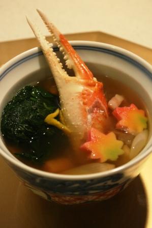 蟹と乾物、野菜の旨美汁web