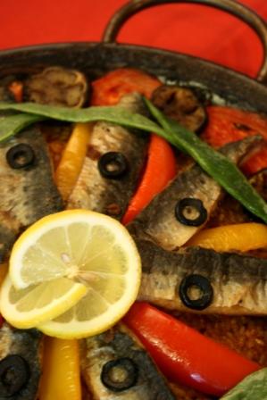 いわしと地中海野菜のパエリアweb圧縮